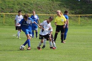 Foto zo zápasu žiakov Horná Poruba - Košeca.