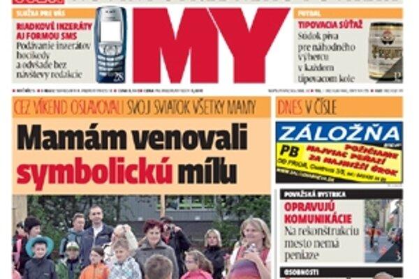 Vyšlo nové číslo MY noviny stredného Považia.