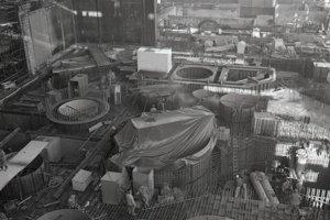 11. február 1988. Pohľad na reaktorovňu prvého bloku.