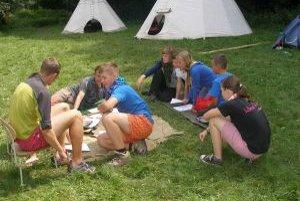 Skauti táboria v Rakovej doline už pätnásty raz.