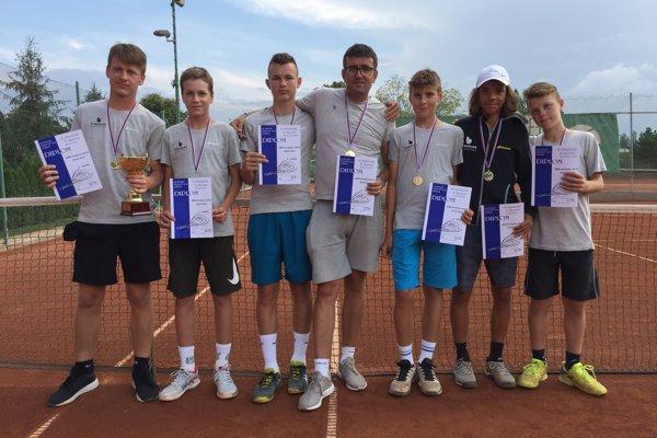 Družstvo tvorili hráči Karol Vlčko, Pavol Gula, Maxim Novák, Matej Muranský, Adam Šimák a Adam Ondrášik.