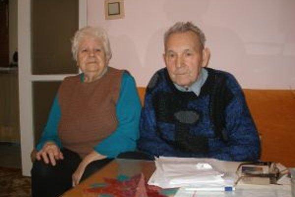 Štefan Grman s manželkou Jolanou.