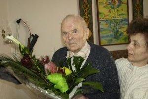 Najstarší obyvateľ obce Nemčice.