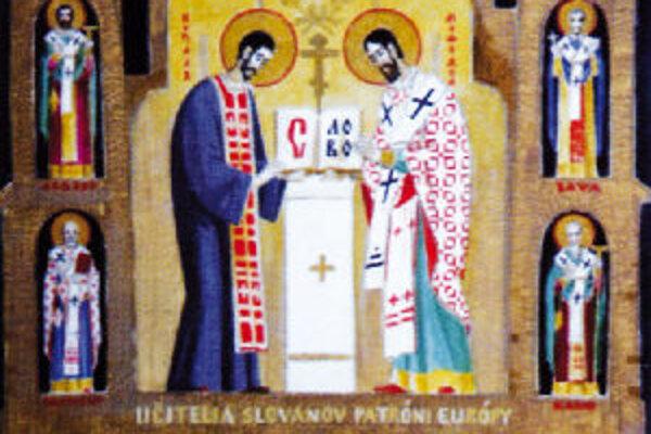 Dejiny ranného kresťanstva maľoval Mikuláš Klimčák.
