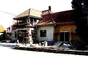 Rekonštrukcia Obecného úradu sa skončí v máji.