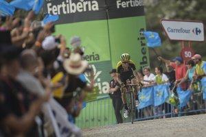 Cyklistov čaká opäť finiš v kopci.