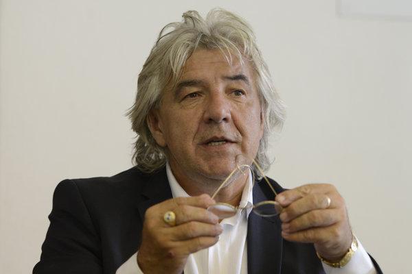 Stanislav Grega, kandidát na primátora mesta Prešov.