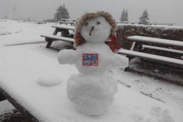Snehuliačica Chlebáčka z Chaty pod Chlebom.