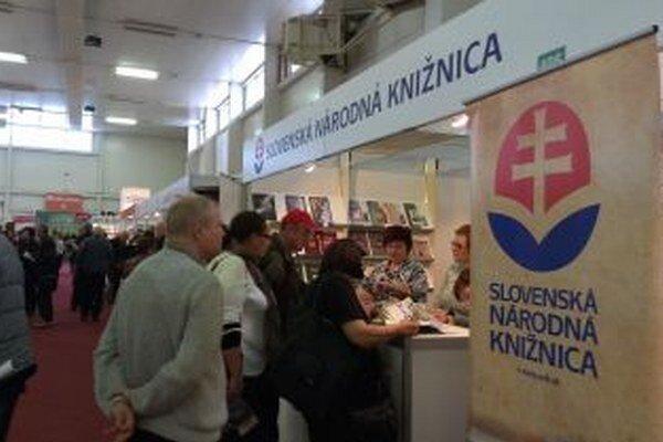 Stánok SNK v bratislavskej Inchebe.