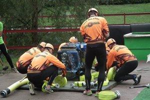 Súťaže sa zúčastnili aj hasiči z Bolešova.