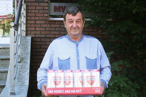 Po kartón piva si prišiel Jozef Hoppan z Vrábeľ, víťaz 5. kola.