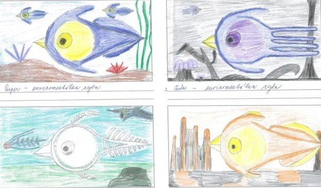 Takto vyzerá Jakubova environmentálna ryba.