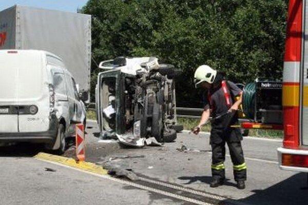 V Turci sa od začiatku roka stalo 65 dopravných nehôd.
