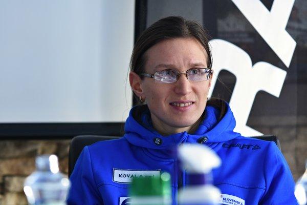 Slovenská reprezentantka Alena Procházková.