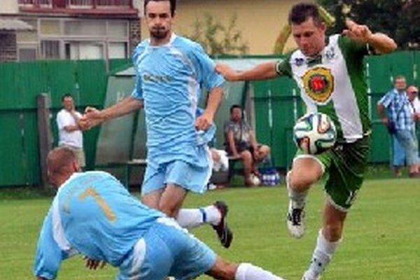 Róbert Špirko strelil Divínu úvodný gól.