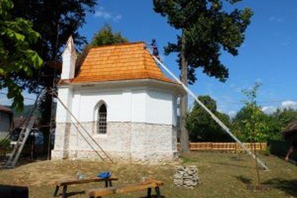 Kaplnka v Lazanoch.