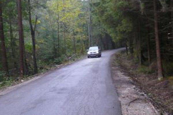 V Gaderskej doline. Štátne lesy investujú na opravy ciest takmer 500 tisíc eur.