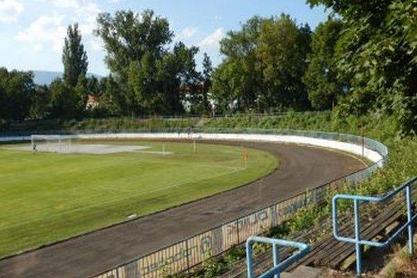Futbalový štadión v Martine.