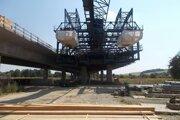 Výstavba pokračuje