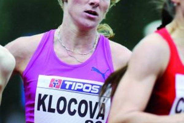 Lucia Klocová je najrýchlejšou Slovenkou už aj v behu na 1 000 m.