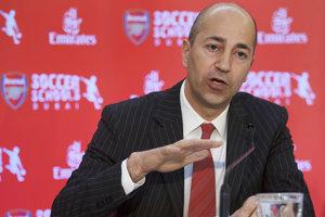 Výkonný riaditeľ Arsenalu Ivan Gazdis.