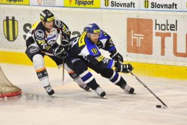 Tomáš Petruška sa gólovo presadil proti Popradu. Z martinských hráčov však bol jediný.