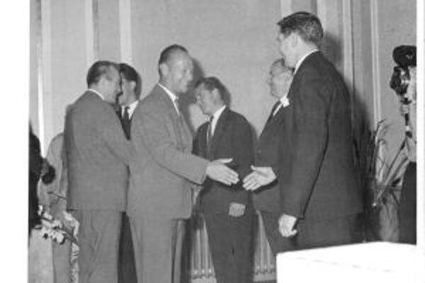 Dubček v Martine. Maticu slovenskú navštívil v roku 1963