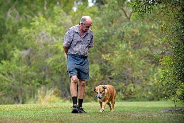 Dôchodca venčil v parku psa, skončil v nemocnici.