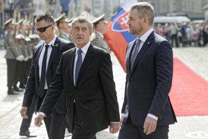 Andrej Babiš a Peter Pellegrini.