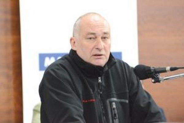 Správca martinského útulku zvierat Vladimír Hatara.