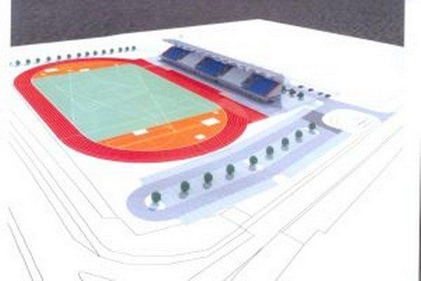 Takto by mal o niekoľko rokov vyzerať nový štadión.