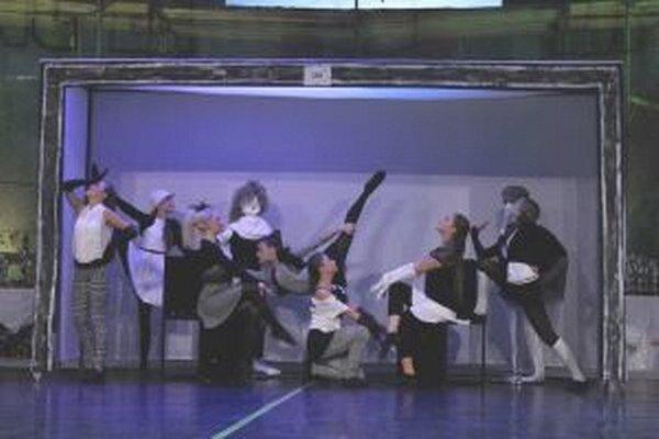 Svetová choreografia Boutique.Skončila na štvrtom mieste.