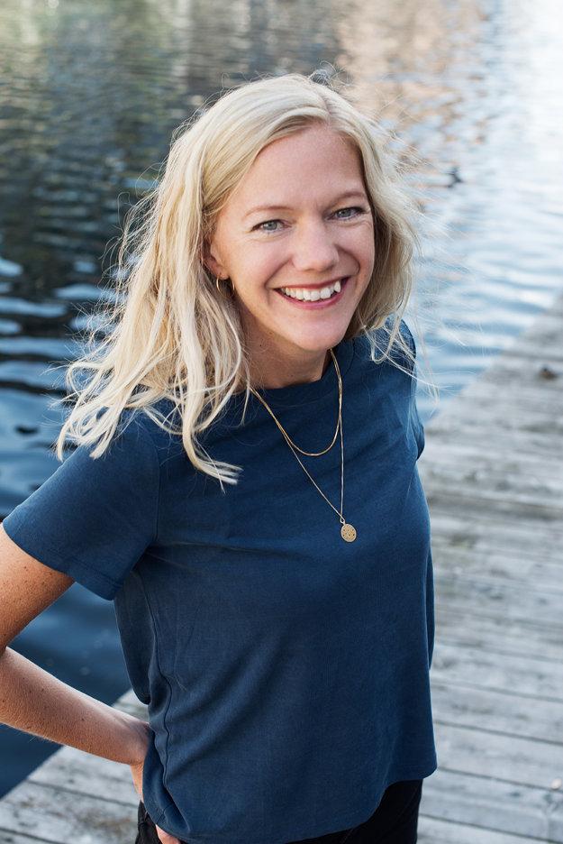 Spisovateľka Maja Lunde