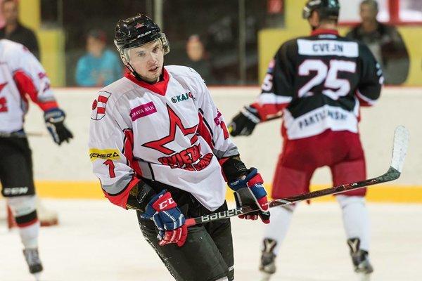 Martin Réway debutoval proti Partizánskemu v drese MŠK Hviezda Dolný Kubín.