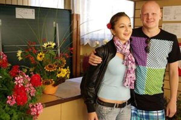 Miška Malovcová nás presviedčala, že aj ona má vzťah ku kvetom.