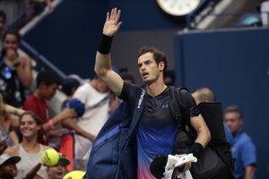 Andy Murray vypadol na US Open už v druhom kole.