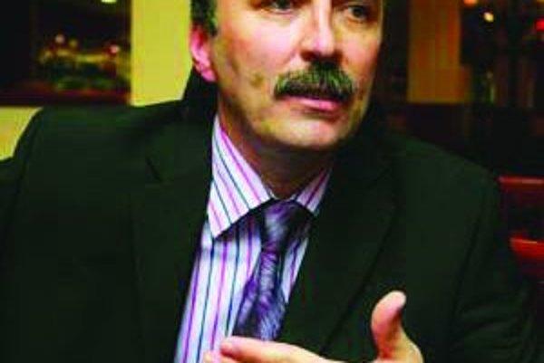 Ľubomír Palčák, generálny riaditeľ Výskumného ústavu dopravného v Žiline.