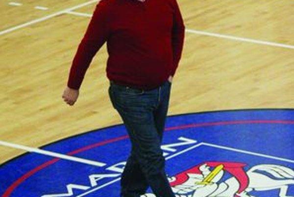 Volejbalový manažér Ján Hošala.
