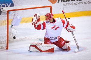 Július Hudáček, brankár Spartaka Moskva.