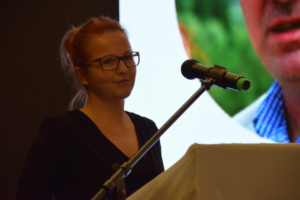 Daniela Čanigová, zástupkyňa Slovenskej správy ciest.
