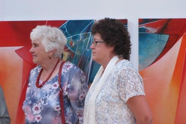 Darina Struhárová (vpravo) s mamou Helenou.
