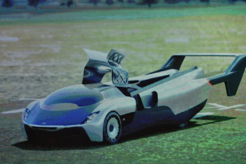 Návrh aeromobilu