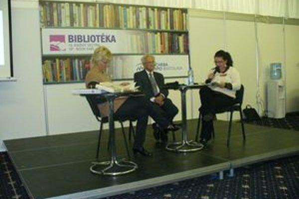 Čitateľov turčiansky rodák na nedávnej Bibliotéke zaujal.FOTO: ARCHÍV TK