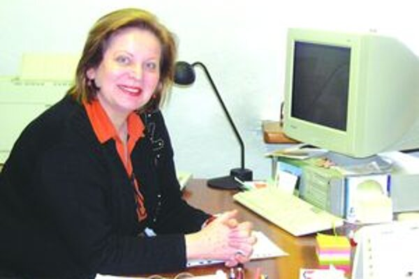 Jarmila Kováčová, riaditeľka Turčianskej galérie.