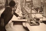 Začiatky výroby televízorov v Tesle Orava.