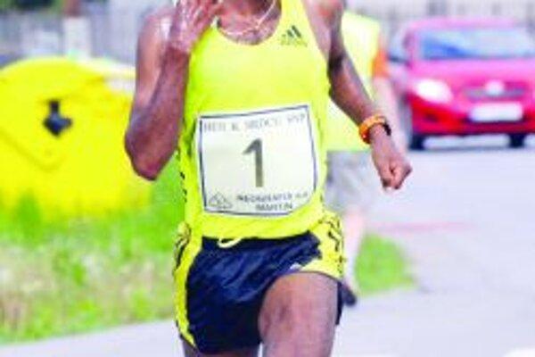 Trojnásobný víťaz. Ashenafi Erkolo kraľoval pretekom v posledných troch rokoch.