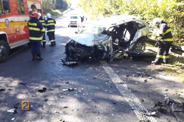 Pri dopravnej nehode utrpel vodič Fabie ťažké zranenia, ktorým, žiaľ, pri prevoze do nemocnice podľahol.