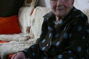 Anna Kamienová zo Slovian sa dožila 99 rokov.