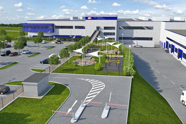 Takto bude vyzerať areal po ukončení výstavby novej haly.