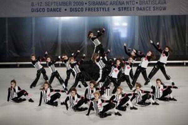 Choreografia s názvom Enchante skončila na piatom mieste.